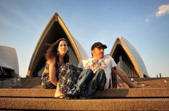 Sheridan und Kurt Fearnley, Sydney