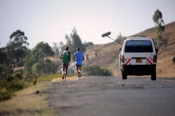 Stadtrand Nairobi
