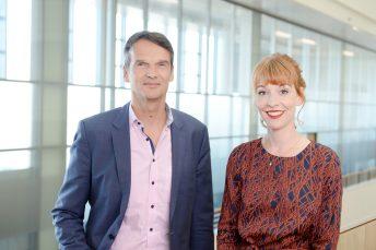 SPIEGEL+ Klaus Brinkbäumer und Barbara Hans